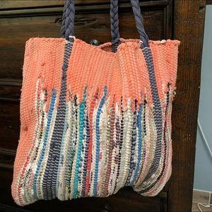 Carpet bag tote from Urban Outfitters